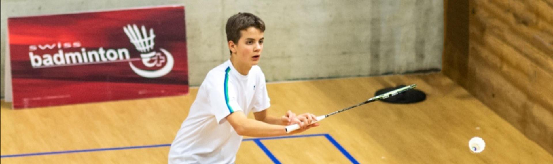Nicolas Franconville, badminton : banque privée Bonhôte