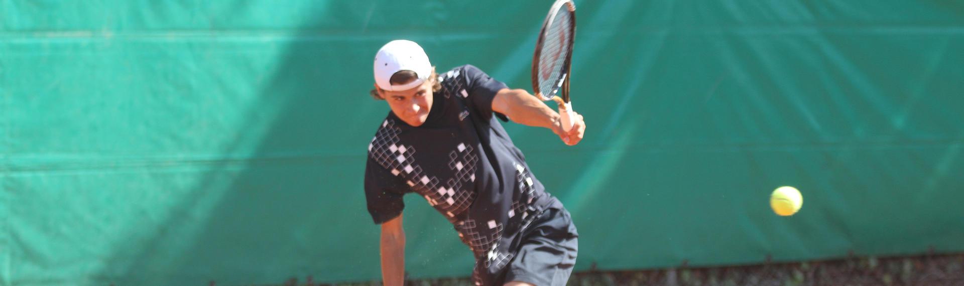 Siméon Rossier, tennis - banque privée Bonhôte