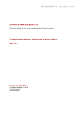 Funds prospectus (French)