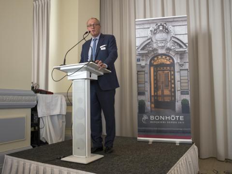 Jean Berthoud, Banque privée Bonhôte : Lausanne, Neuchâtel, Genève, Bienne, Berne
