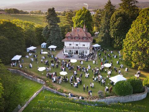Banque privée Bonhôte - Garden Party Neuchâtel