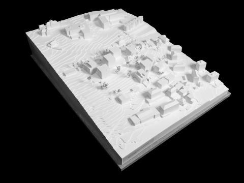 Devise du projet : Places, cours et jardins