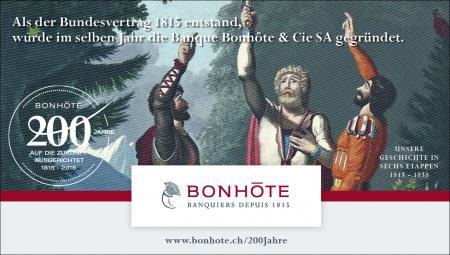 Werbung 1/6 - Unsere Geschichte in sechs Etappen: 1815 – 1858