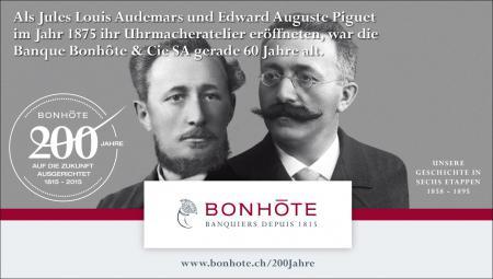 Werbung 2/6 - Unsere Geschichte in sechs Etappen: 1858 – 1895