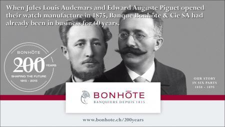 2. Jules Louis Audemars and Edward Auguste Piguet (1858 - 1895)